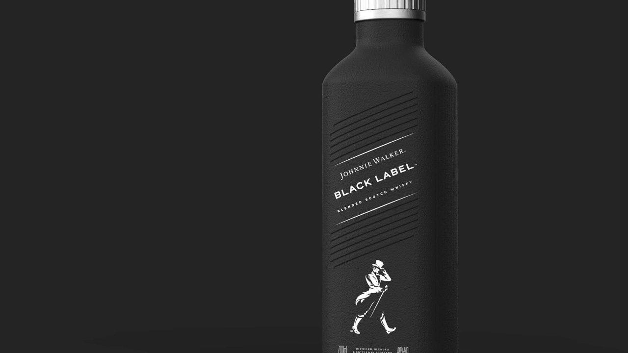 Takto by měla vypadat ekologičtější lahev whisky Johnnie Walker.
