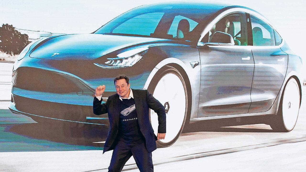 Tesla reportuje rekordní prodeje.