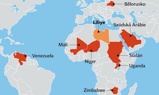Libye, Muammar Kaddáfí, exil, Uganda