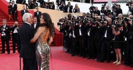 Belmondo v Cannes / Foto: ČTK/AP