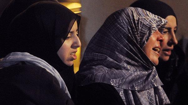 Muslimky po útoku na mešitu v Belgii