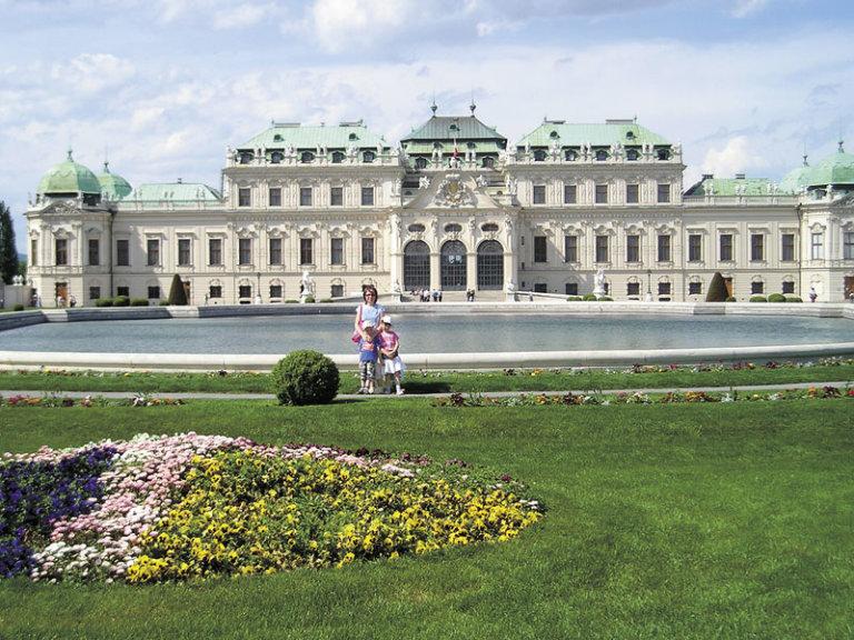 Schonbrunn, Vídeň