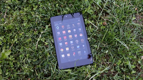 Tablet Nexus 7 se syst�mem Android 4.1 (Jelly Bean)