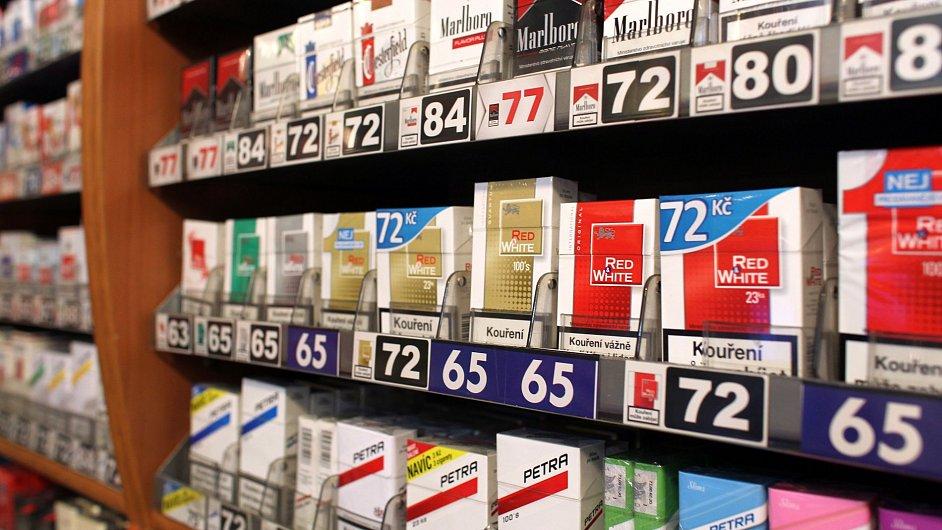 Meziroční růst cen cigaret v průměru o 4 procenta se výrazně podepsal na červencové inflaci. (Ilustrační foto)