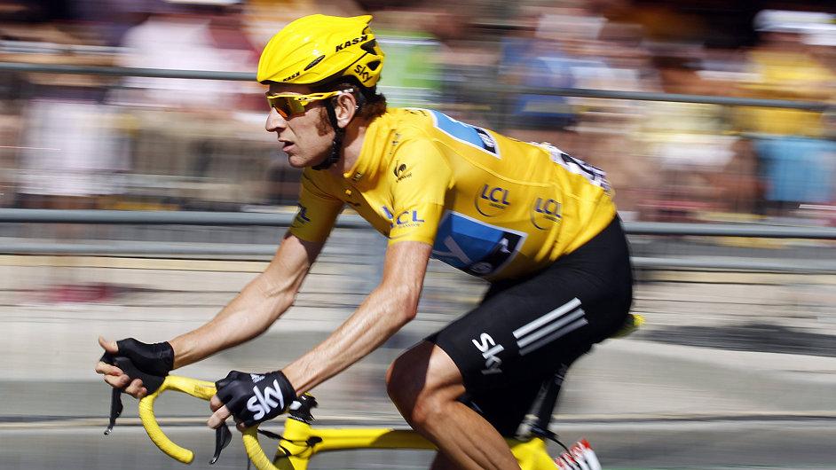 O vítězi Tour de France (na snímku Bradley Wiggins) se začíná rozhodovat už při předsezonní přípravě - ilustrační foto