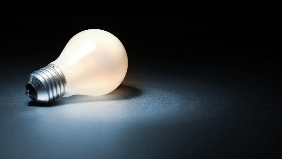 Žárovka, ilustrační foto