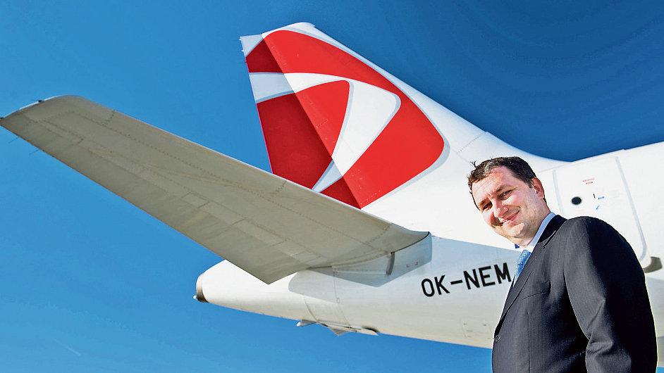 Předseda představenstva aeroholdingu Miroslav Dvořák