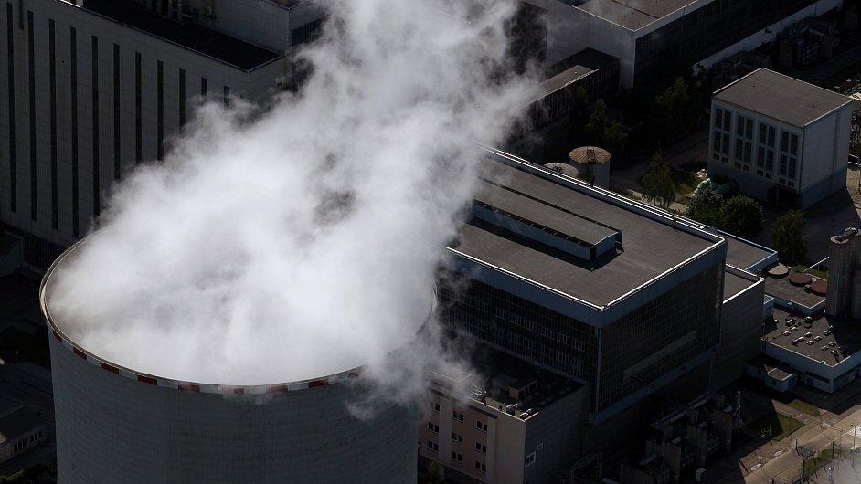Tepelná elektrárna - ilustrační foto