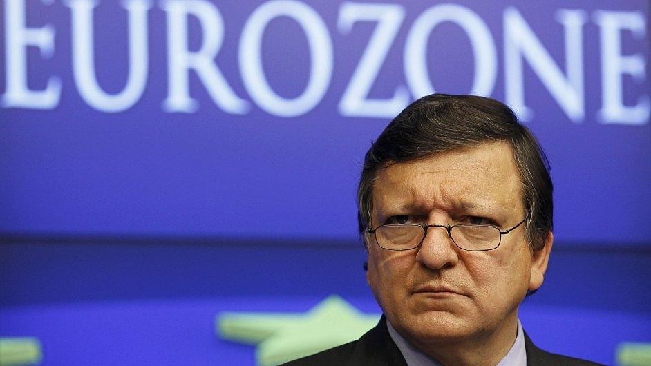 Předseda EU José Barroso.