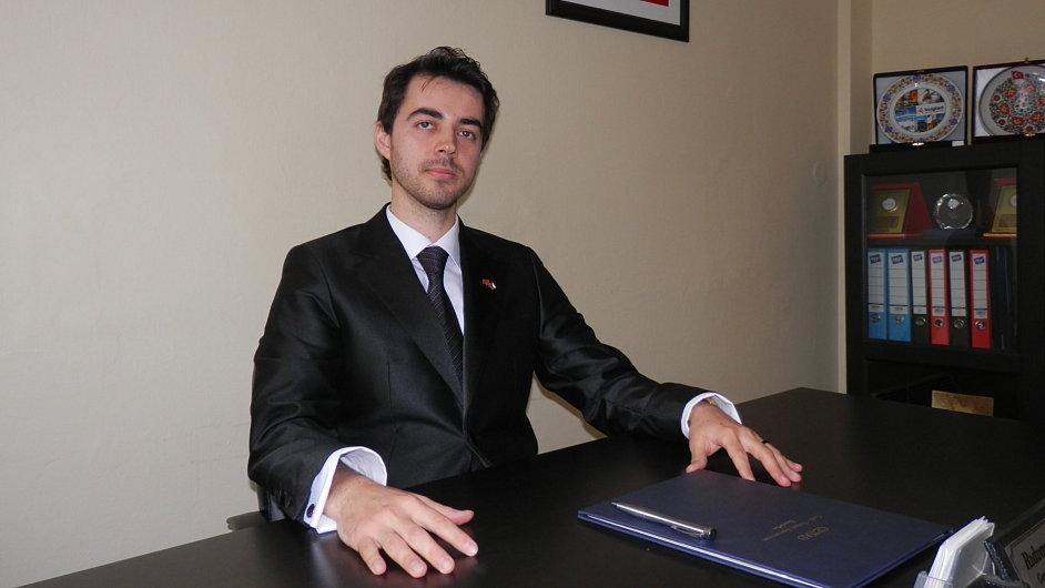 Ridvan Sen, generální sekretář Česko-tureckého sdružení mladých podnikatelů (CETIAD).