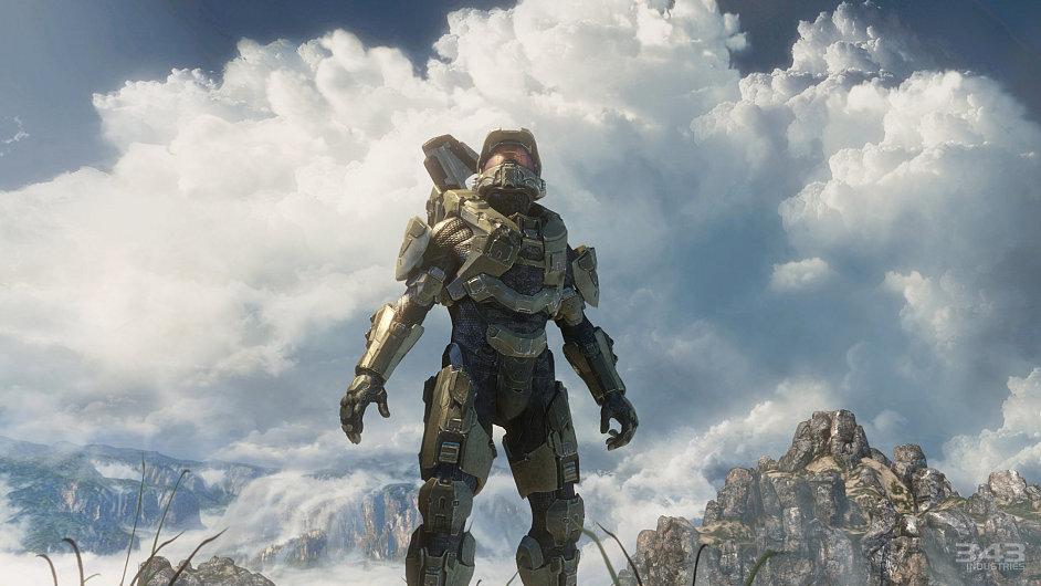 Hlavní hrdina hry Halo 4 - Master Chief John-117
