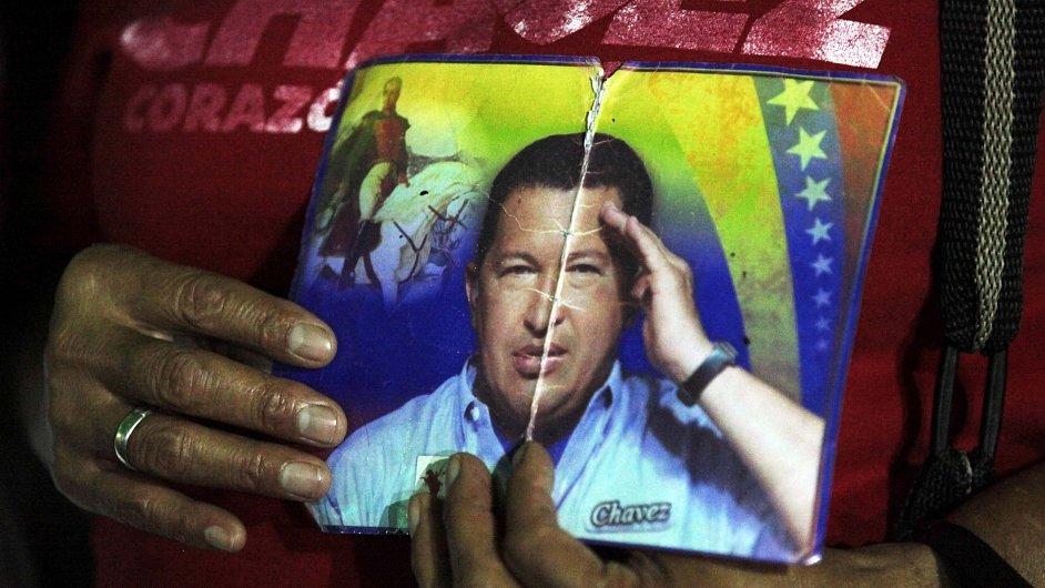Hromadná modlitba za Hugo Cháveze v Caracasu