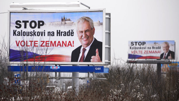 Stop Kalouskovi na Hrad�! Kampa� Milo�e Zemana