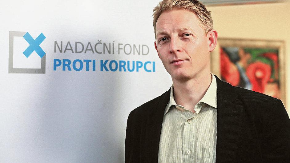 Karel Janeček, zakladatel a šéf Nadačního fondu proti korupci