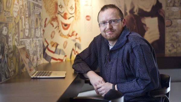 Podnikatel a investor Michal Bláha.
