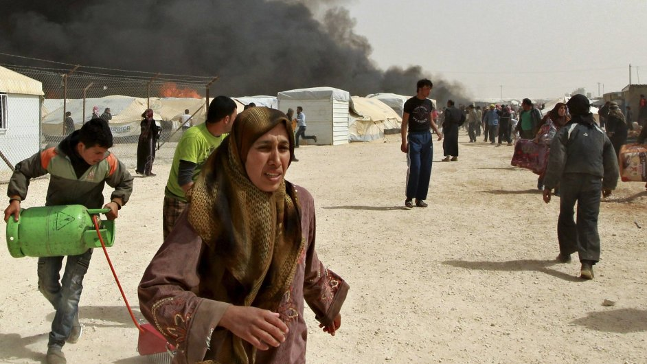 Syrští uprchlíci - ilustrační foto.