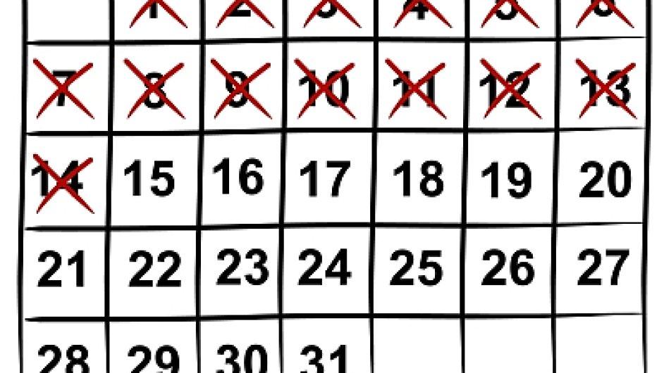 Kalendář - ilustrační foto.
