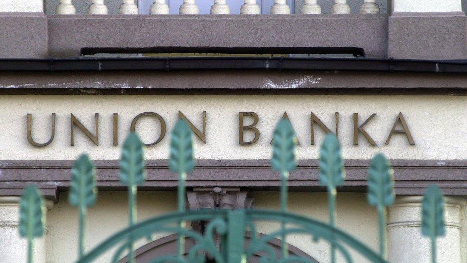 Sídlo Union banky v roce 2003