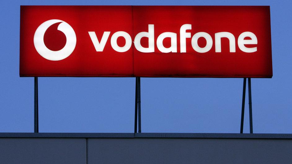 Logo Vodafone - Ilustrační foto