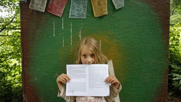 Lesní škola Řevnice- předávání vysvědčení