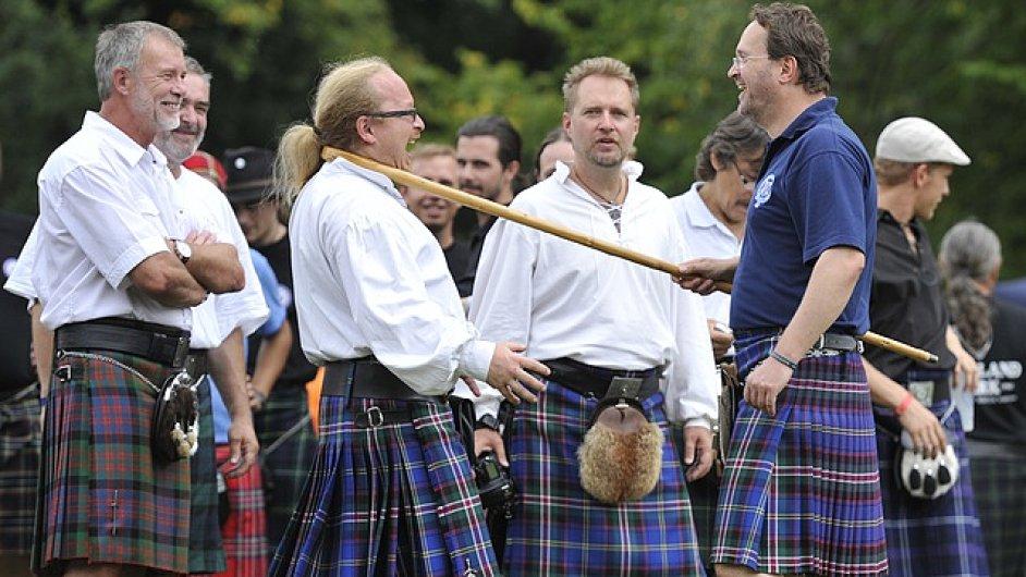 Skotská tradice, folklor i sport