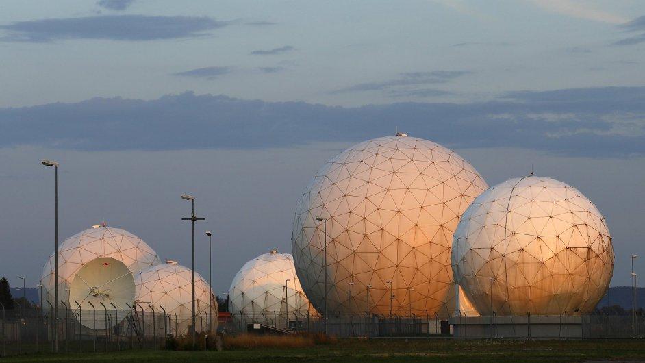 Bývalá monitorovací základna NSA u Mnichova