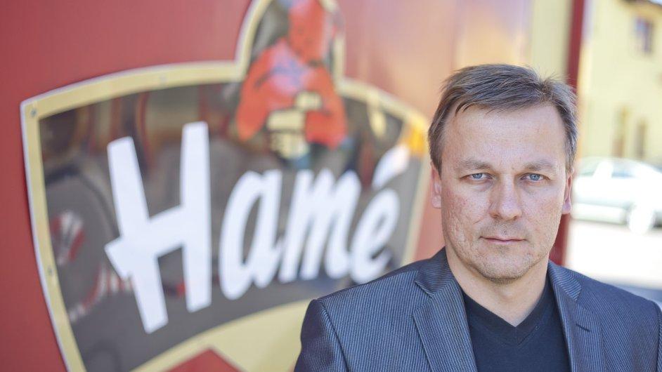Generální ředitel Hamé Martin Štrupl - NEPOUŽÍVAT - NA OBRÁZKU STARÉ LOGO