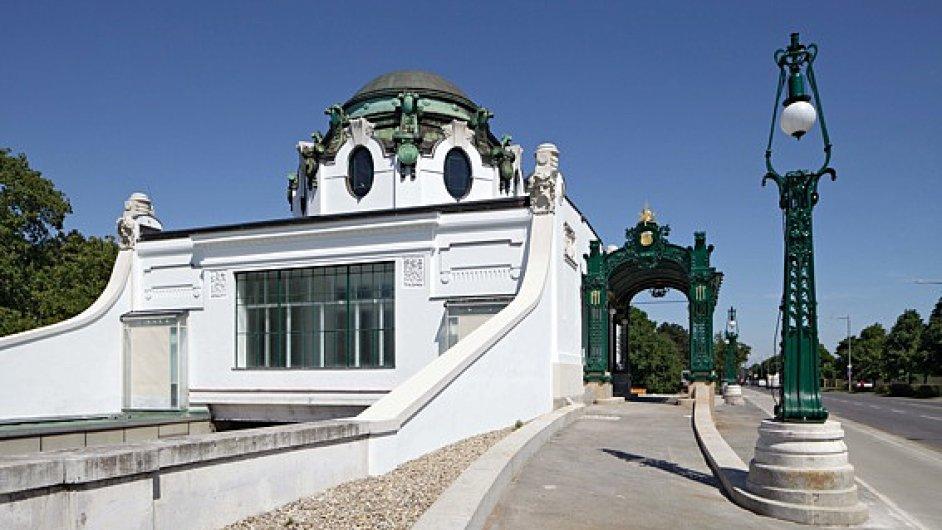 Ve Vídni se otevírá opravený Wagnerův pavilón.
