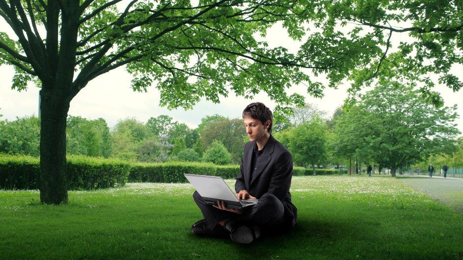 Práce v parku, ilustrační foto