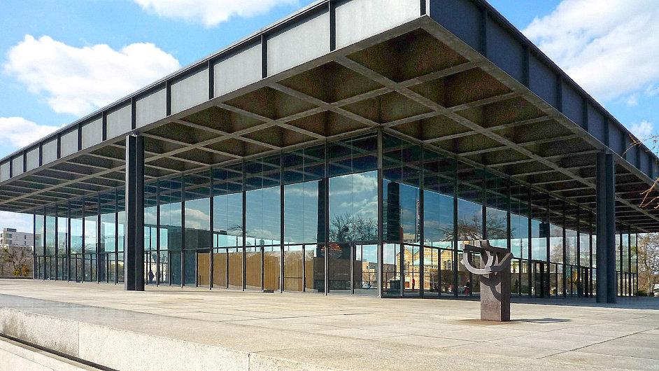 Nové muzeum v Berlíně bude stát poblíž Neue Nationalgalerie.