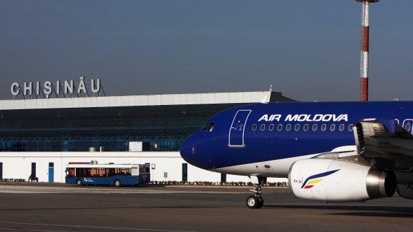 Mezinárodní letiště v moldavském Kišiněvě