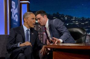 Obama v televizní show: Netweetuju, nepíšu SMS, e-mail na Clintonovou nedám