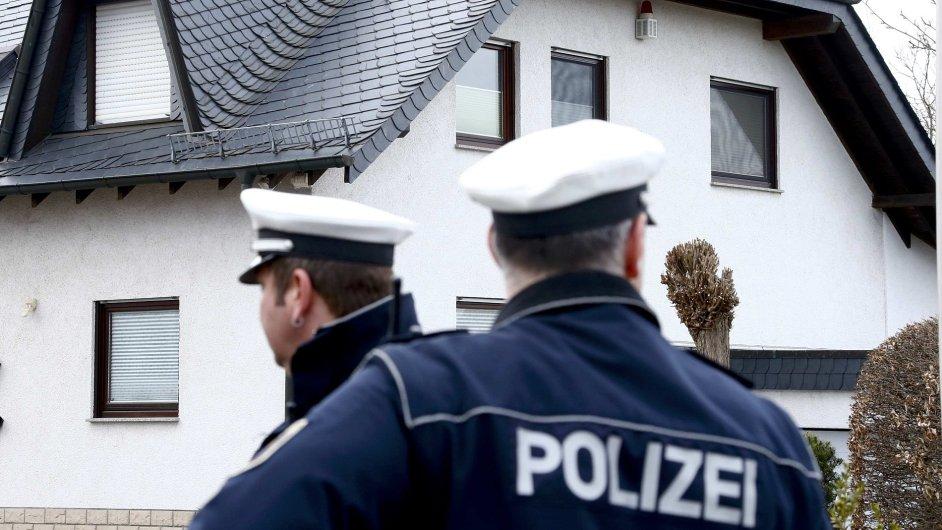 V tomto domě v Montabauru zřejmě žil kopilot ze zříceného airbusu Andreas Lubitz.
