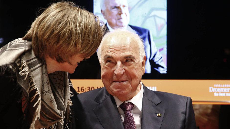 Letos pětaosmdesátiletý Helmut Kohl