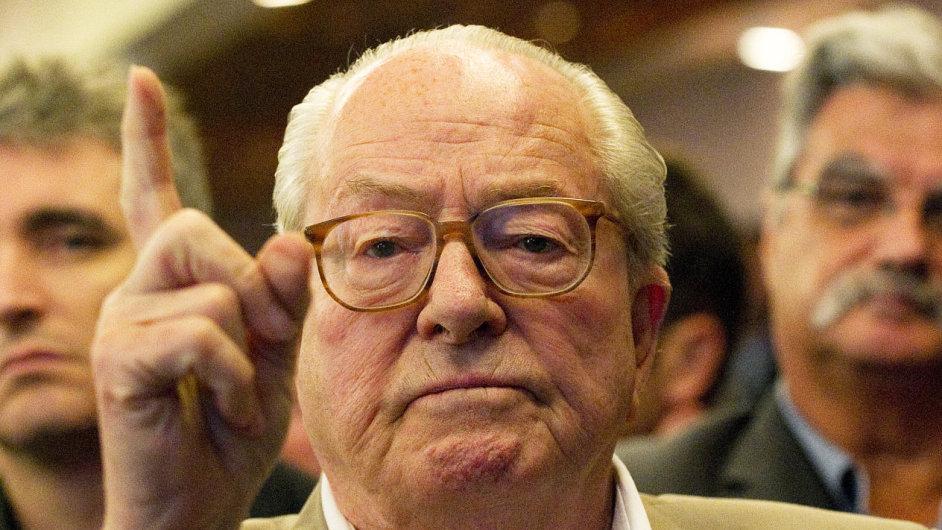 Jean-Marie Le Pen plánuje založit nové politické hnutí.