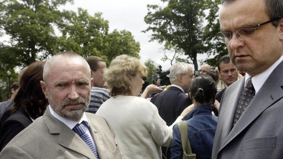 Petra Mareše nepřekvapilo, že do Rigy nejede (na snímku vlevo).