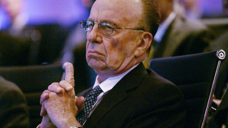 Rupert Murdoch odchází z čela 21st Century Fox.