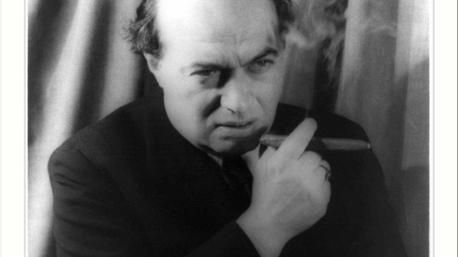 Spisovatel Franz Werfel na snímku z prosince 1940.