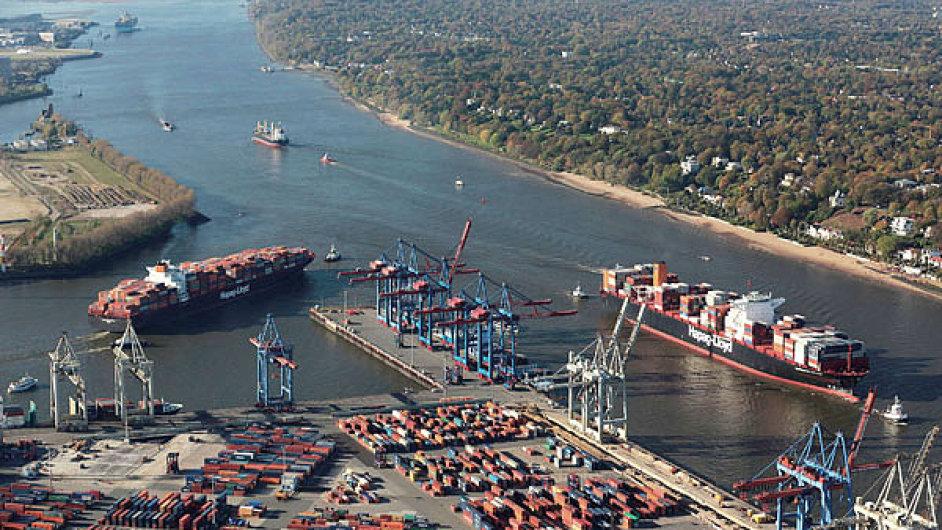 Hamburský přístav - ilustrační foto