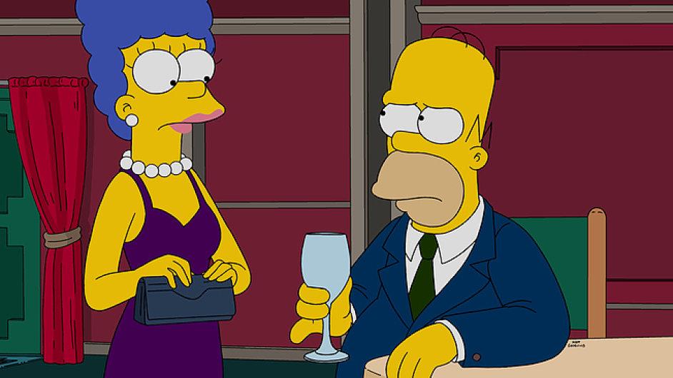 Marge a Homer začnou v první epizodě nové řady Simpsonových řešit rozvod.