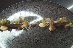 Šéfkuchařovy recepty: Makrela s houbami macutake
