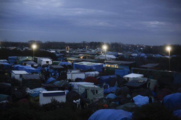 Tábor poblíž Calais