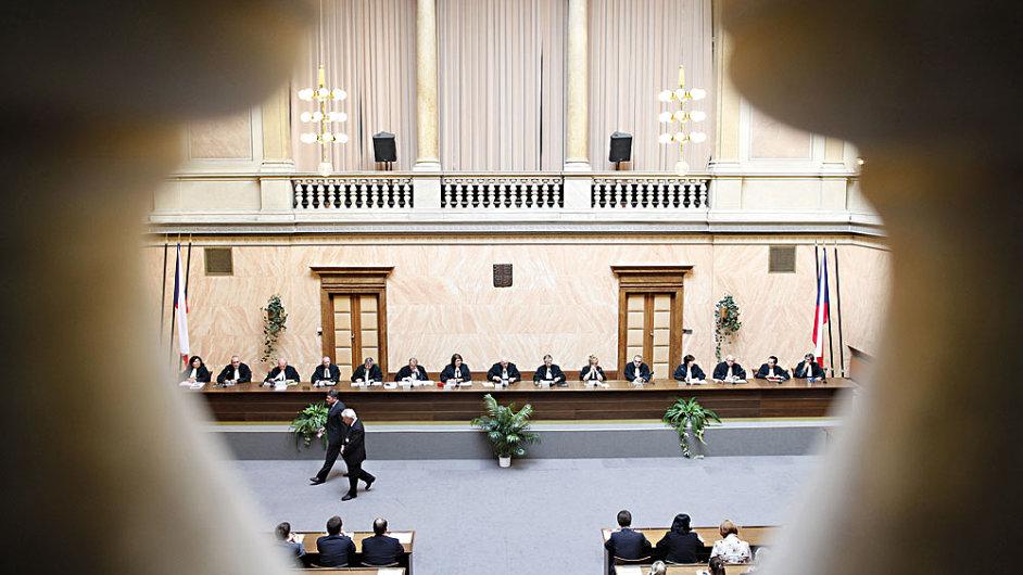 Ústavní soud - Ilustrační foto.