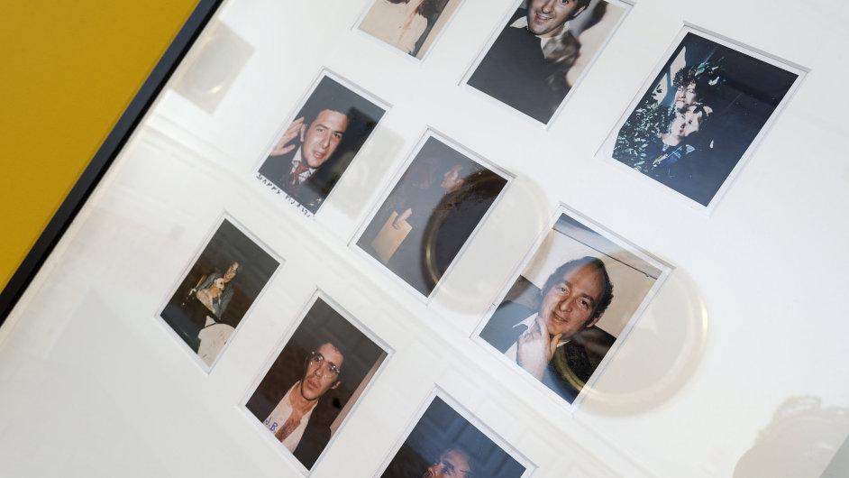 Snímek z výstavy Andyho Warhola