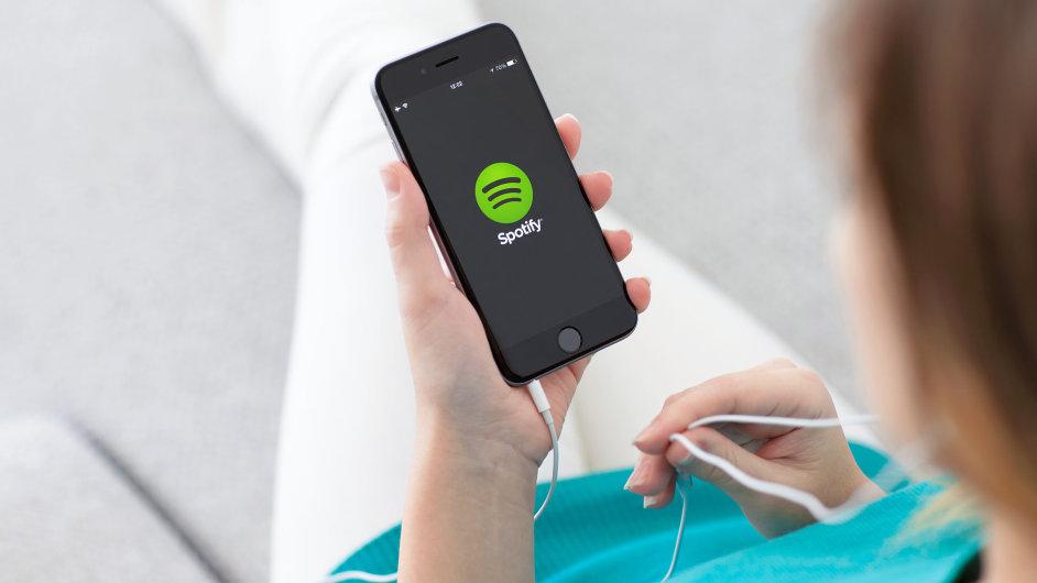 Spotify je nyní v češtině - Ilustrační foto.