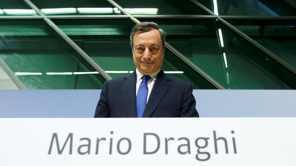 Mario Draghi, ECB.