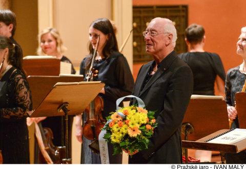 Snímek ze čtvrtečního vystoupení Orchestra of the Age of Enlightenment na Pražském jaru.