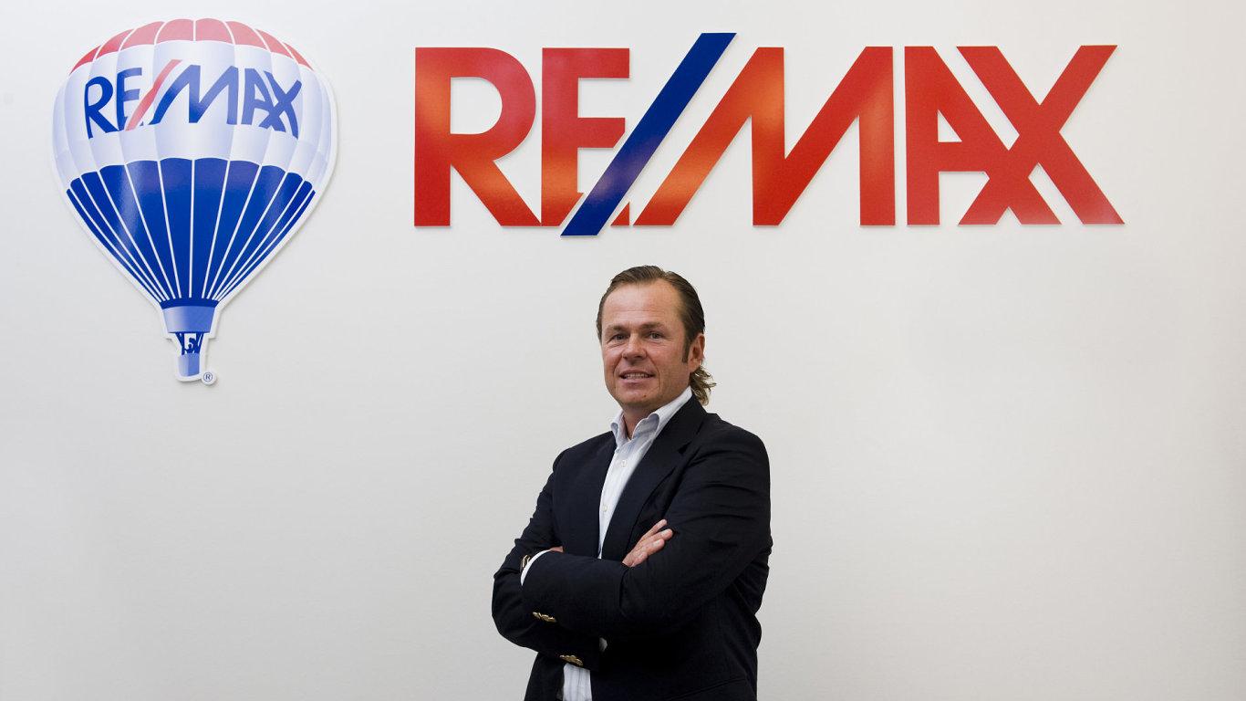 Šéf realitní sítě RE/MAX David Krajný