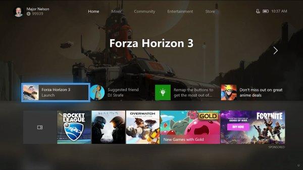 Xbox One v novém