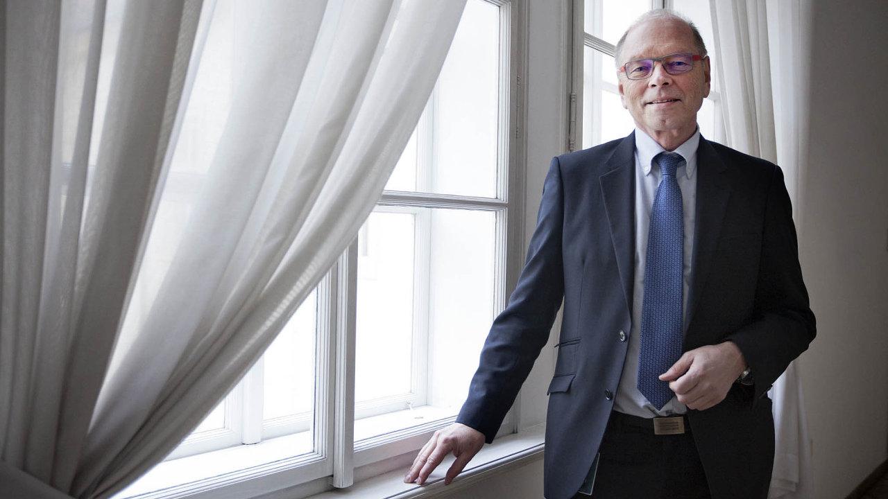 Ivan Pilný, možný budoucí ministr financí Česka.